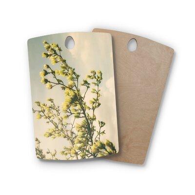Angie Turner Birchwood Magnolias Cutting Board Shape: Rectangle