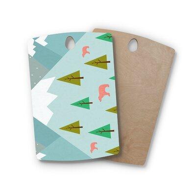 Cristina Bianco Design Birchwood Design Bears Illustration Cutting Board Shape: Rectangle