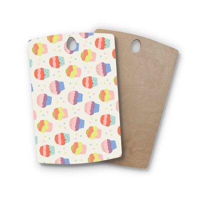Cristina Bianco Design Birchwood Design Cupcakes Cutting Board Shape: Rectangle