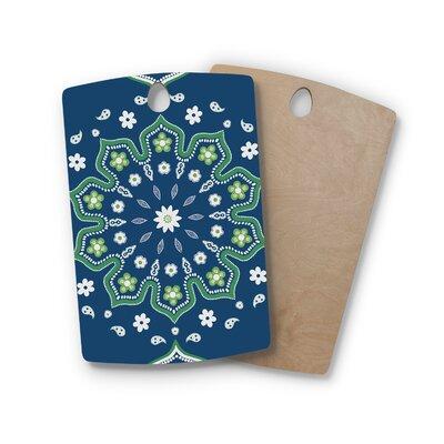 Cristina Bianco Design Birchwood Design and Mandala Design Cutting Board Shape: Rectangle