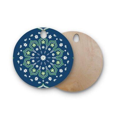 Cristina Bianco Design Birchwood Design and Mandala Design Cutting Board Shape: Round