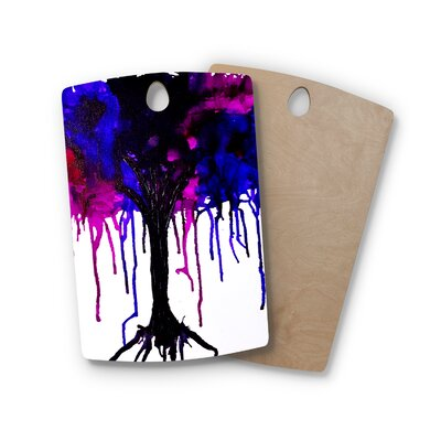 Claire Day Birchwood Weeping Willow Cutting Board Shape: Rectangle