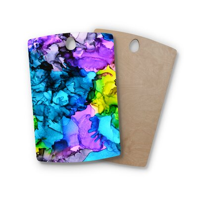 Claire Day Birchwood Mermaids Paint Cutting Board Shape: Rectangle
