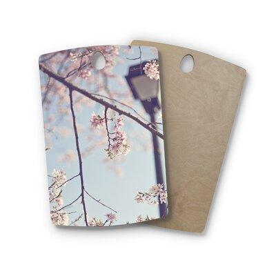 Catherine McDonald Birchwood Walk with Me Blossom Cutting Board Shape: Rectangle