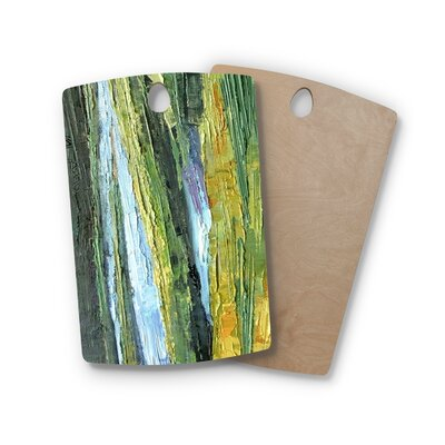 Carol Schiff Birchwood Southern Marsh Cutting Board Shape: Rectangle