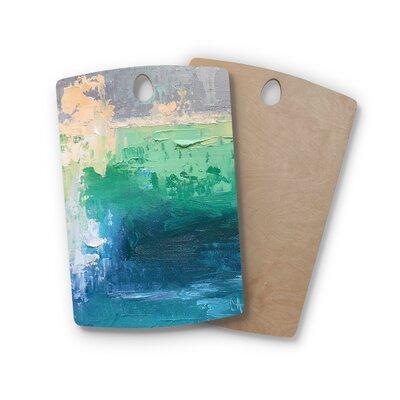 Carol Schiff Birchwood Sea Music Painting Cutting Board Shape: Rectangle