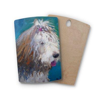 Carol Schiff Birchwood Shaggy Dog Story Animals Cutting Board Shape: Rectangle