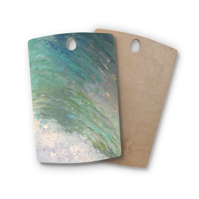 Carol Schiff Birchwood Wall of Water Painting Cutting Board Shape: Rectangle