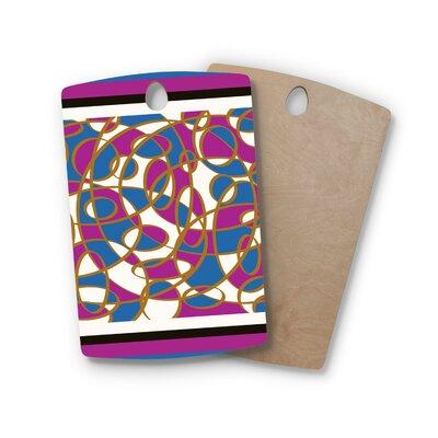 Cyndi Steen Birchwood Carousel Digital Cutting Board Shape: Rectangle