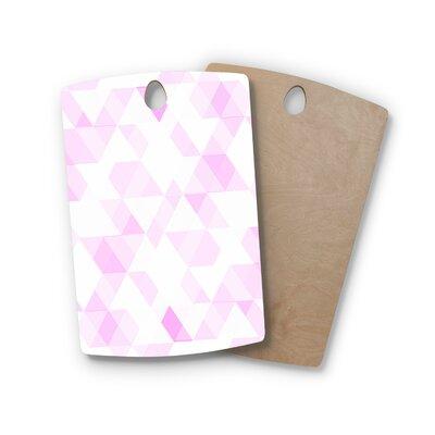 Carollynn Tice Birchwood Aspire Geometric Cutting Board Shape: Rectangle