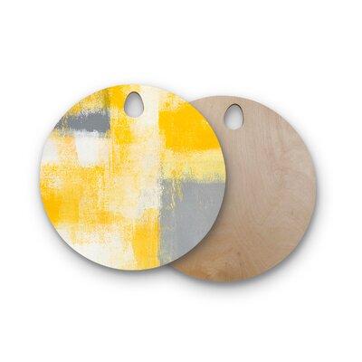 Carollynn Tice Birchwood Breakfast Cutting Board Shape: Round