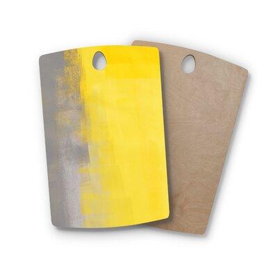 Carollynn Tice Birchwood A Simple Abstract Cutting Board Shape: Rectangle
