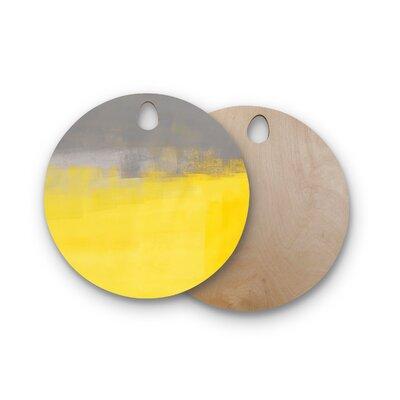 Carollynn Tice Birchwood A Simple Abstract Cutting Board Shape: Round