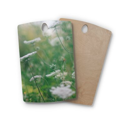 Birchwood Queen Anne Floral Nature Cutting Board Shape: Rectangle
