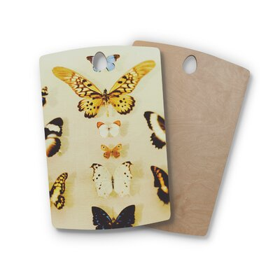 Birchwood The Butterfly Collection Photography Cutting Board Shape: Rectangle