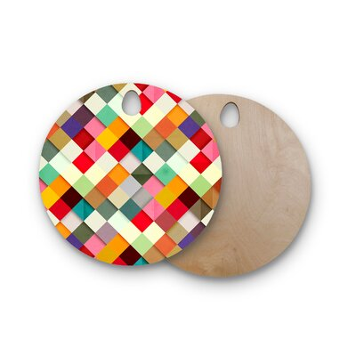 Danny Ivan Birchwood Pass Thison Cutting Board Shape: Round