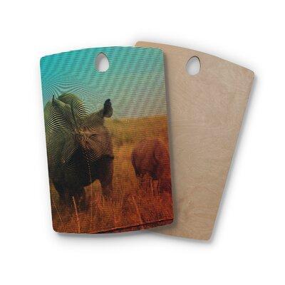 Danny Ivan Birchwood Rhino Cutting Board Shape: Rectangle