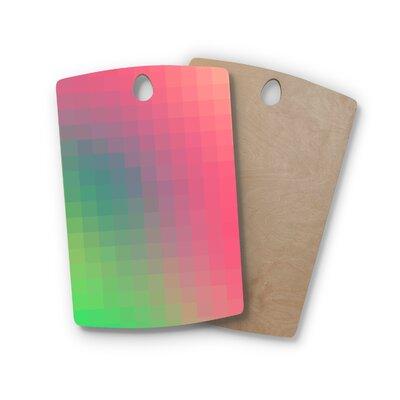 Danny Ivan Birchwood Gradient Print Cutting Board Shape: Rectangle