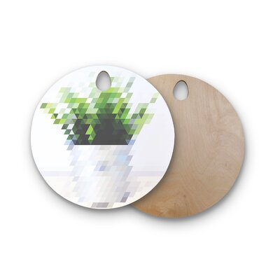 Danny Ivan Birchwood Plant Cutting Board Shape: Round
