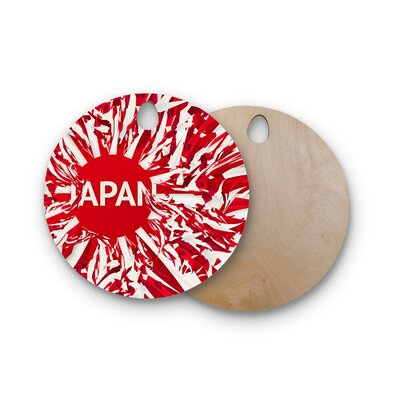 Danny Ivan Birchwood Japan World Cup Cutting Board Shape: Round