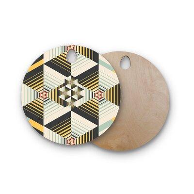 Danny Ivan Birchwood La Plus Cutting Board Shape: Round