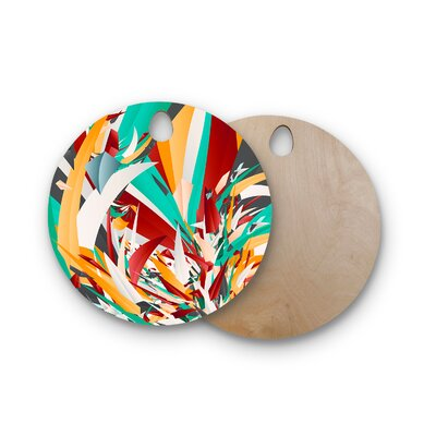 Danny Ivan Birchwood Lafaye Cutting Board Shape: Round