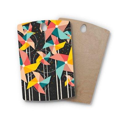 Danny Ivan Birchwood Pinwheels Cutting Board Shape: Rectangle