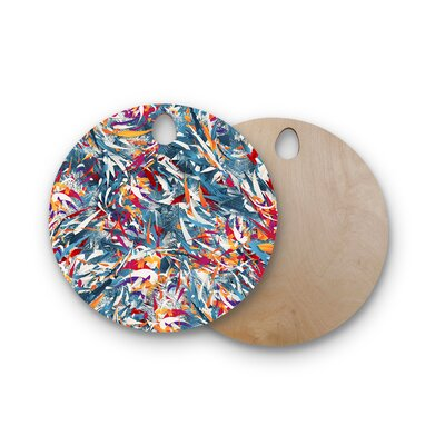 Danny Ivan Birchwood Excited Colors Cutting Board Shape: Round