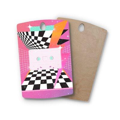 Danny Ivan Birchwood K7 Casette Cutting Board Shape: Rectangle