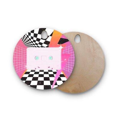 Danny Ivan Birchwood K7 Casette Cutting Board Shape: Round