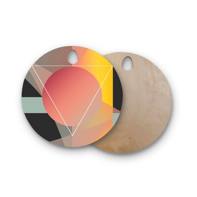 Danny Ivan Birchwood Objectum Cutting Board Shape: Round
