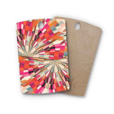Danny Ivan Birchwood Convoke Geometric Cutting Board Shape: Rectangle
