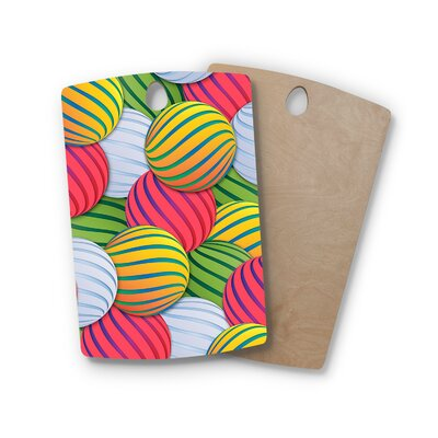 Danny Ivan Birchwood Melons Cutting Board Shape: Rectangle