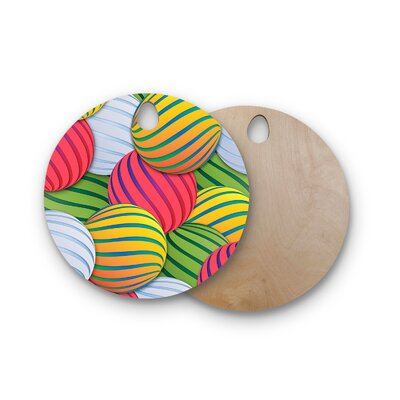 Danny Ivan Birchwood Melons Cutting Board Shape: Round