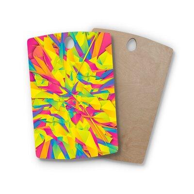 Danny Ivan Birchwood Bubble Gum Explosion Cutting Board Shape: Rectangle
