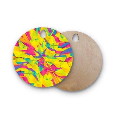 Danny Ivan Birchwood Bubble Gum Explosion Cutting Board Shape: Round