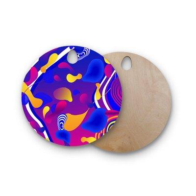 Danny Ivan Birchwood Bubbles Cutting Board Shape: Round