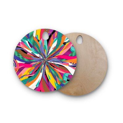 Danny Ivan Birchwood Pop Cutting Board Shape: Round
