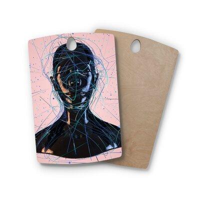 Danny Ivan Birchwood Calm Woman Cutting Board Shape: Rectangle
