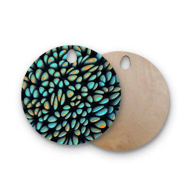 Danny Ivan Birchwood Blobbly Pattern Cutting Board Shape: Round