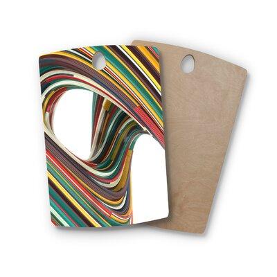 Danny Ivan Birchwood Twist Digital Cutting Board Shape: Rectangle
