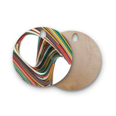 Danny Ivan Birchwood Twist Digital Cutting Board Shape: Round