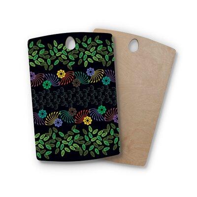 Famenxt Birchwood Jungle Pattern Cutting Board Shape: Rectangle