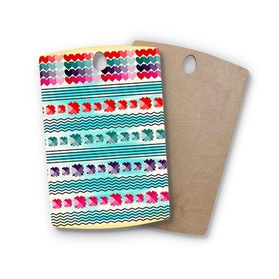Famenxt Birchwood Love Pattern Cutting Board Shape: Rectangle