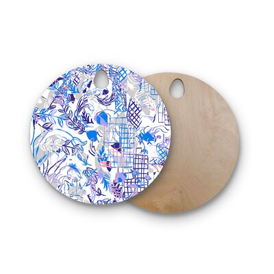 Gabriela Fuente Birchwood She Cutting Board Shape: Round