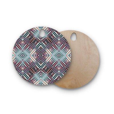 Gabriela Fuente Birchwood Water Caledoscope Cutting Board Shape: Round