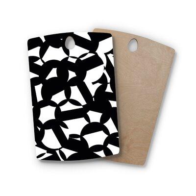 Gabriela Fuente Birchwood Geo Chic Cutting Board Shape: Rectangle