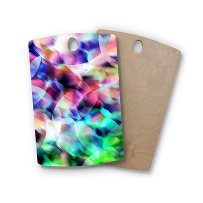 Gabriela Fuente Birchwood Party Pastel Abstract Cutting Board Shape: Rectangle
