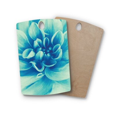 Graphic Tabby Birchwood Beauty Floral Cutting Board Shape: Rectangle