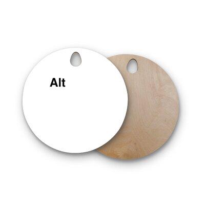 Jackie Rose Birchwood Alt Cutting Board Shape: Round